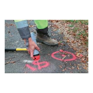 Soppec Markierungsspray FLUO TP 500 ml 9-12 Monate sichtbar für Baustellen pink