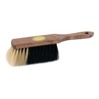 Sorex Handfeger Rosshaar L.290mm braun lackiert heller Bart