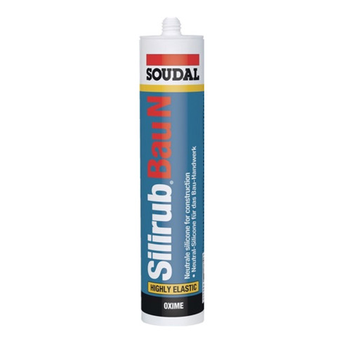 Soudal Bausilikon Silirub N weiss 310 ml