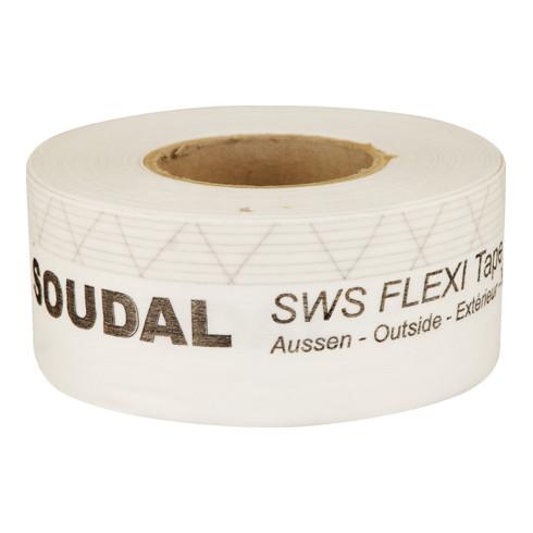 Soudal Fensteranschlussfolie SWS Flexi Tape Aussen weiss 250 mm