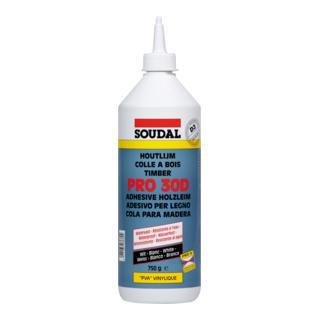 Soudal Holzleim Pro 30D weiss 750 g/750 ml