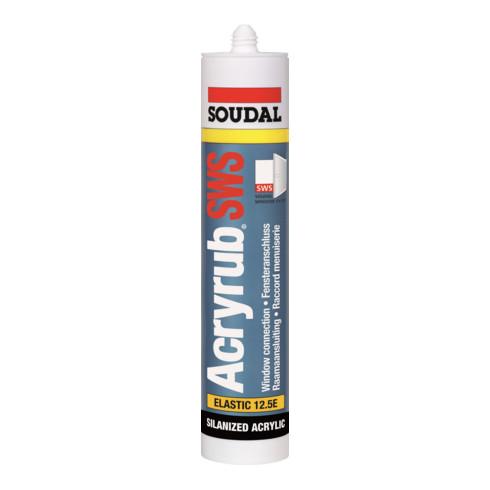 Soudal Maleracryl Acryrub SWS Innen weiss 310 ml