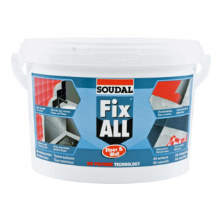 Soudal Montagekleber Fix ALL® Floor & Wall weiss 4 kg