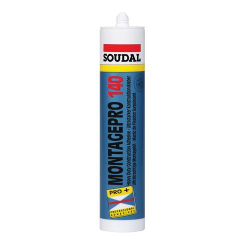 Soudal Montagekleber Pro 140 weiss 400 g/310 ml