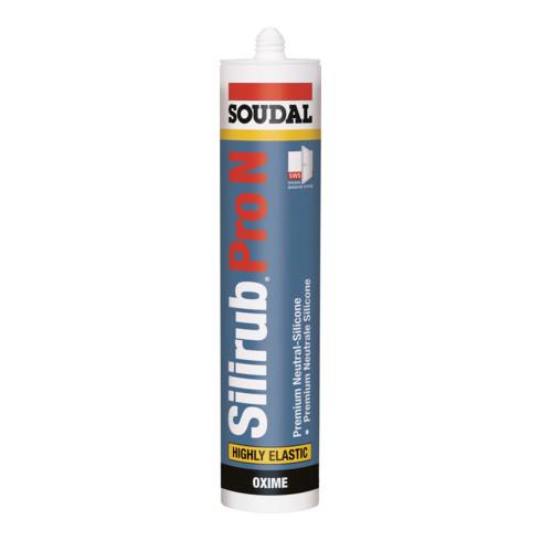 Soudal Neutralsilikon Silirub Pro N transparent 310 ml