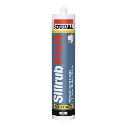 Soudal Neutralsilikon Silirub Pro N weiss 310 ml