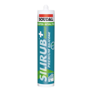 Soudal Neutralsilikon Silirub+ S8800 transparent 300 ml
