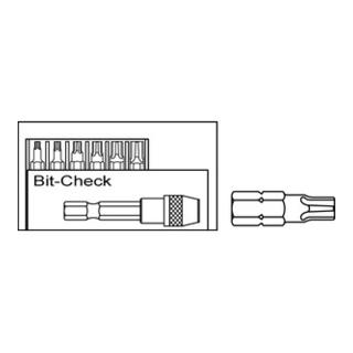 SPAX BITcheck 10Stk a 1 Rapid. Bithalter + 6 T-Star plus BITs S