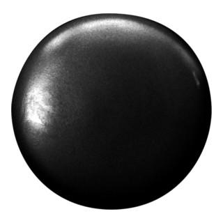 Spax Kunststoff-Abdeckkappen Schwarz passend für Spax RA Flachsenkkopf