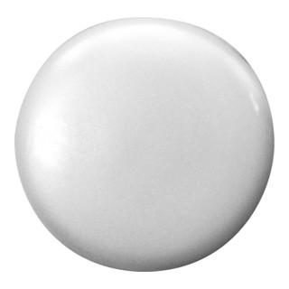 Spax Kunststoff-Abdeckkappen Weiß passend für Spax RA Flachsenkkopf