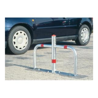 Sperrbügel kippbar Stahl verz. H.500xB.760mm abschließbar