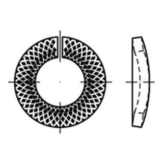 Sperrkantring VSK für Schrauben mit Klemmkraft bis 8.8
