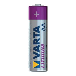 Spezialbatterie 1,5V Mignon 2900mAh 6106 50,5x14,5mm Lithium Varta