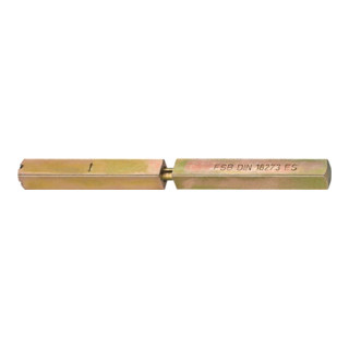 Spezialstift 05 0125 4-KT.9mm L.118 Schl.m.geteilter Nuss