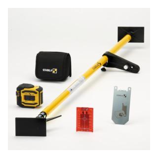 STABILA 5-Punkt-Laser LA-5P 5-teiliges Set