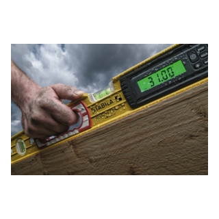 STABILA Elektronik-Wasserwaage TECH 196 electronic IP 65