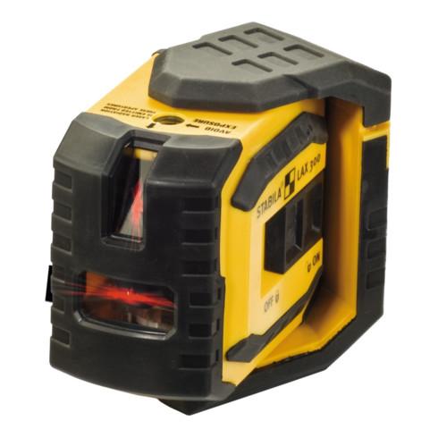 STABILA Kreuzlinien-Lot-Laser LAX 300 4-teiliges Set