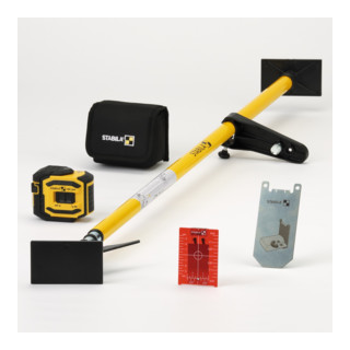 STABILA Kreuzlinien-Lot-Laser LAX 300 5-teiliges Set