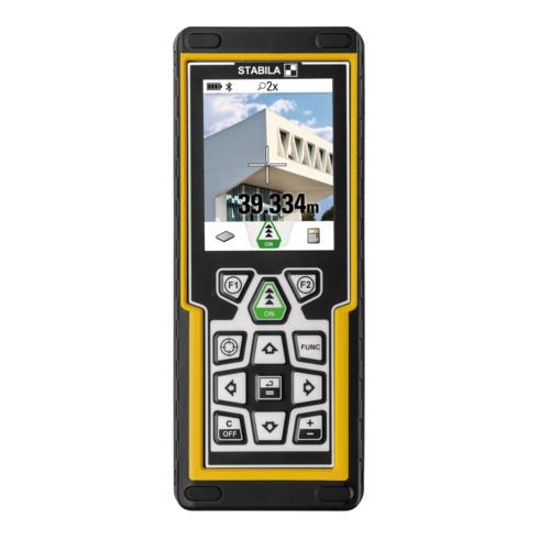 STABILA Laser-Entfernungsmesser LD 520 0,05-200 m mit Bluetooth mit Batterien