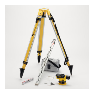 STABILA Optisches Nivellier OLS 26 8-teiliges Set