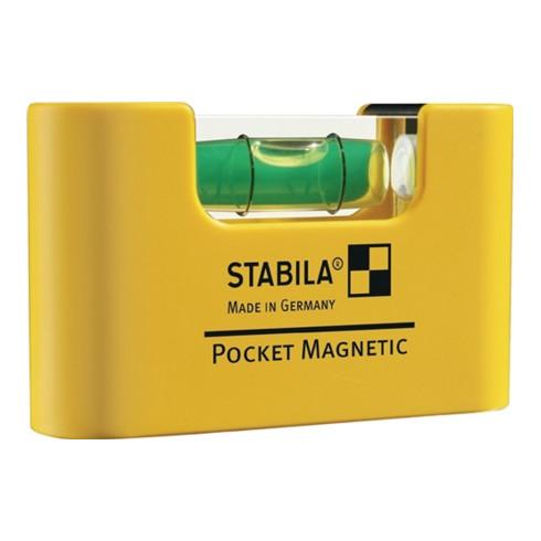 STABILA Pocket-Wasserwaage Magnetic 70 mm