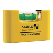 STABILA Pocket-Wasserwaage Magnetic 70 mm