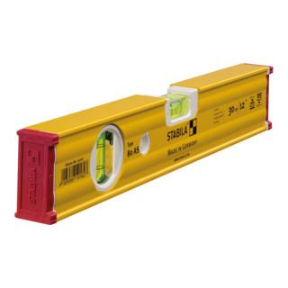 STABILA Wasserwaage 80 AS Alu.gelb ± 0,5 mm/m
