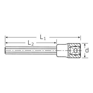 Stahlwille 1054/2054 INHEX-Einsätze Nr. 2054/6 1/2 6 mm