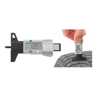 Stahlwille 12900/4 Elektronischer Reifenprofil-Messschieber