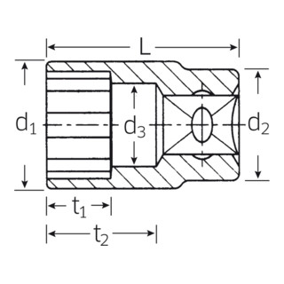 Stahlwille 40 Steckschlüsseleinsätze