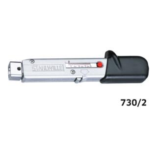 Stahlwille 730 Drehmomentschlüssel Service MANOSKOP® mit Aufnahme für Einsteckwerkzeuge Gr. a/2 3,4-20 Nm