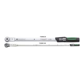 Stahlwille 730DR Drehmomentschlüssel Service/Serien MANOSKOP® mit Einsteckwerkzeug Umschaltknarre