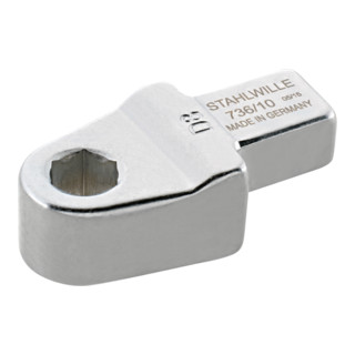 Stahlwille 736 Bit-Halter-Einsteckwerkzeuge Gr. 10-1; D 6,3; für Werkzeugaufnahme 9x12 mm