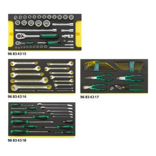 Stahlwille 805/4 WT TCS Werkzeugsortiment für Werkzeug-Trolley Nr. 13217 9,2 kg