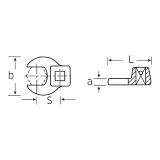 Stahlwille CROW-FOOT-Schlüssel 540