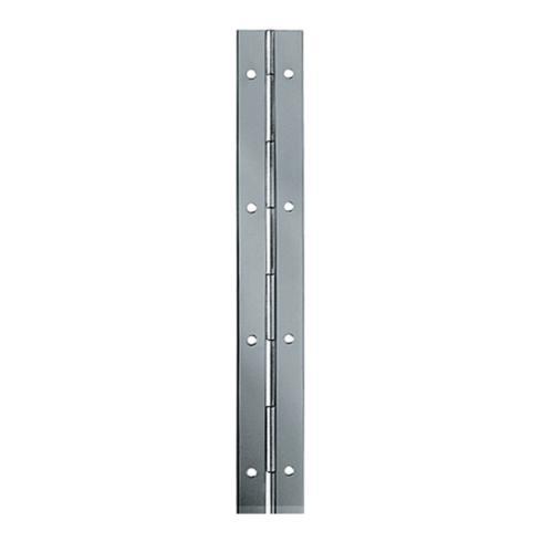 Stangenscharnier Breite 32mm Eisen vernickelt Stange 3,5m 10 Stangen a 3,5m