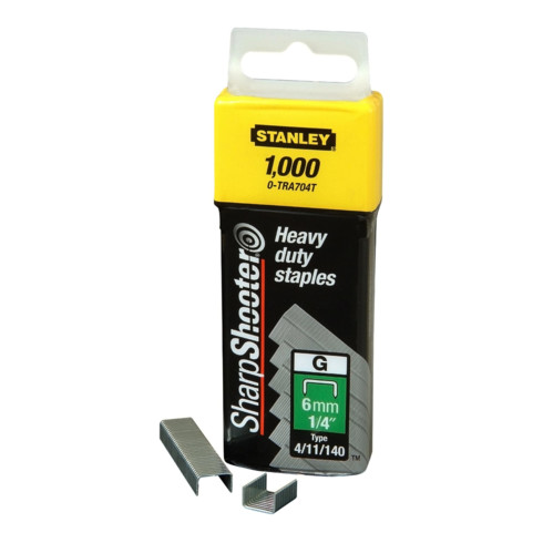 Stanley Klammern Typ G 10mm 5000 St.