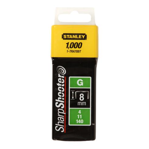 Stanley Klammern Typ G 8mm 1000 St.