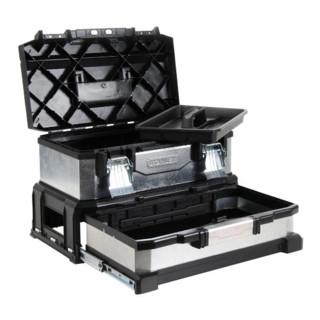 Stanley Werkzeugbox Metall-Kunststoff, Schublade