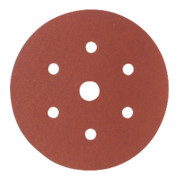 Starcke Papier-Klett-Schleifscheibe (A) Lochung 6fach + 1,⌀ 150 mm, Körnung: 120