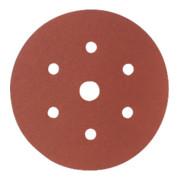 Starcke Papier-Klett-Schleifscheibe (A) Lochung 6fach + 1,⌀ 150 mm, Körnung: 80