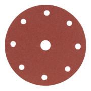 Starcke Papier-Klett-Schleifscheibe (A) Lochung 8fach + 1,⌀ 150 mm, Körnung: 80