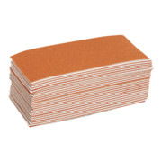 Starcke Schleifpapier-Set 50-teilig ungelocht, Körnung: 60, (L x B: 140 x 67 mm)