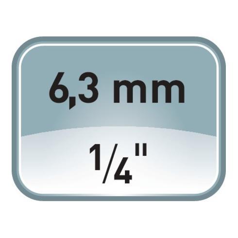 Steckschlüsselsatz 1/4 und 1/2 Zoll 41 tlg. 5-24 mm 12 Ring-Maul- Schlüssel 6 KT