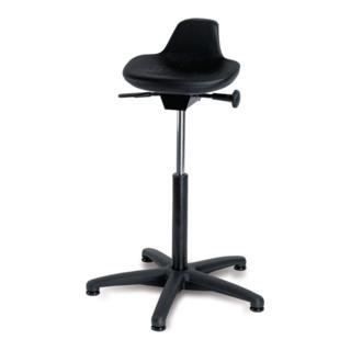 Stehhilfe mit Gleitern Sitzhöhe 590-840mm PU-Sitz Integralschaum