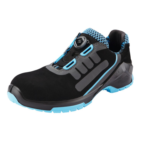 Steitz SECURA Halbschuh schwarz/blau VD PRO 1500 SF, S3 NB BOA, EU-Schuhgröße: 41