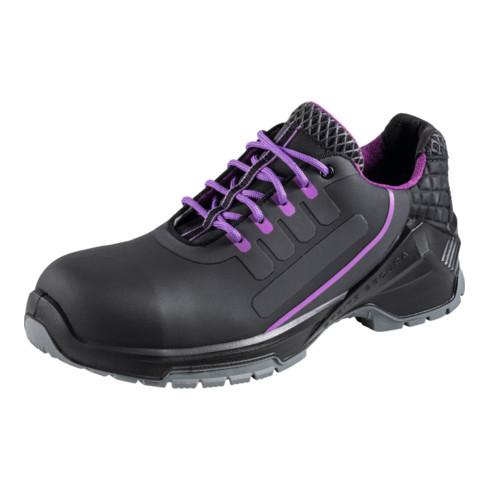 Steitz SECURA Halbschuh schwarz/violett VD PRO 3530 ESD, S2 NB, EU-Schuhgröße: 40
