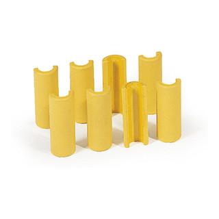 STIER 8 Kunststoff-Clips für Plattformwagen im Set