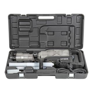 STIER Abbruchhammer SAH-2000, 1700 W, 50 J, 2000 Schläge/min, 30 mm Sechskant-Aufnahme