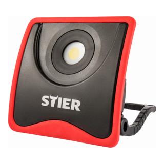 STIER Akku-COB-LED-Baustrahler 2200 Lumen 20W